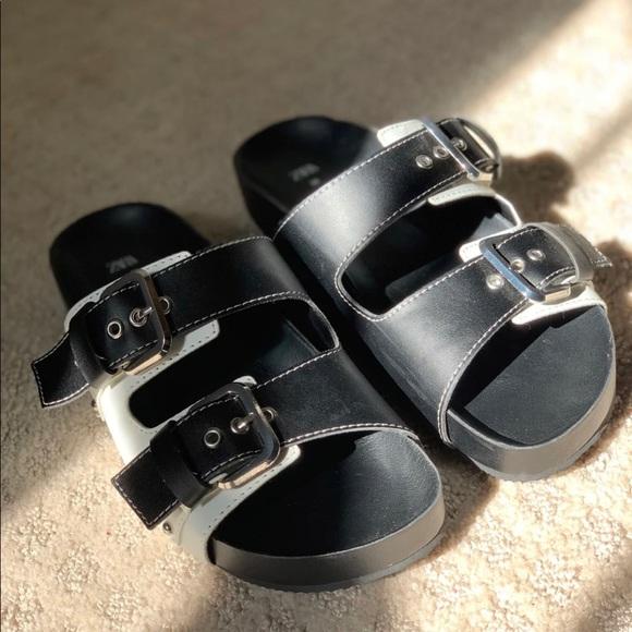 Zara women's sandal